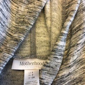 Motherhood Maternity Tops - Motherhood Maternity Grey Hoodie